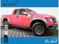 Molten Orange Tri Coat 2011 Ford F150 SVT Raptor SuperCab 4x4