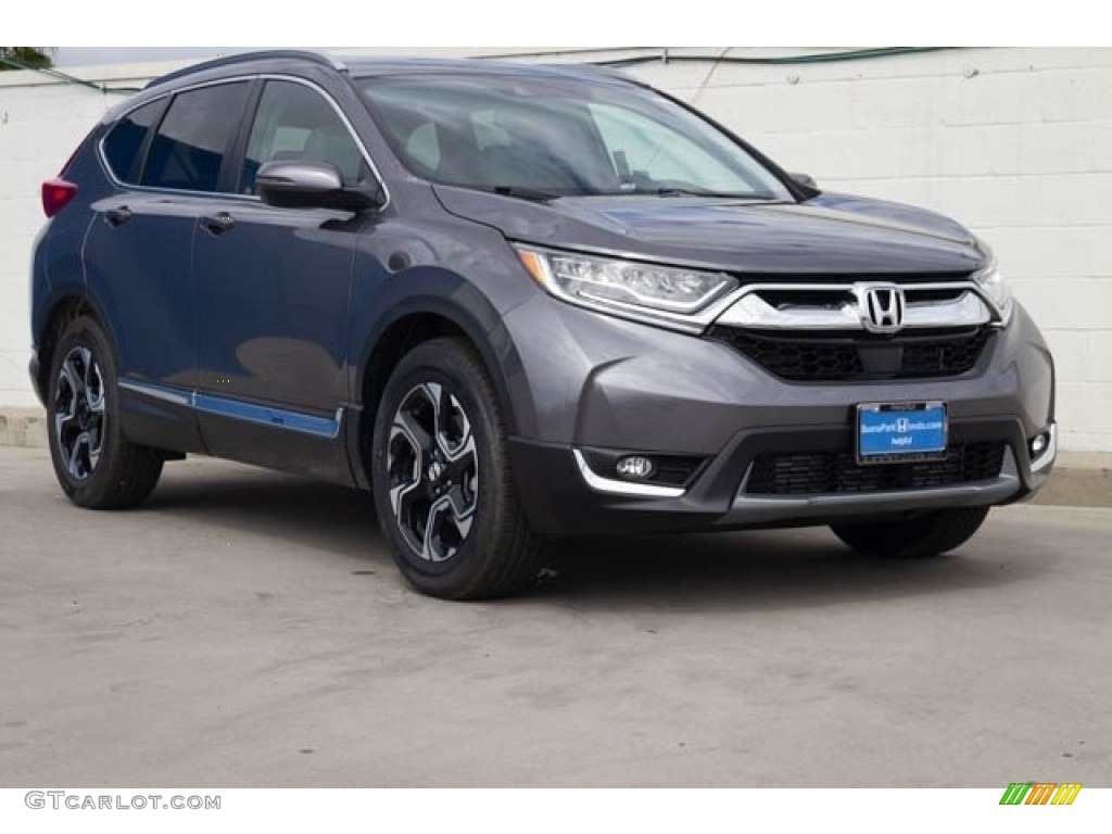2020 CR-V Touring - Modern Steel Metallic / Gray photo #1