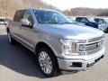 2020 Iconic Silver Ford F150 Limited SuperCrew 4x4  photo #3