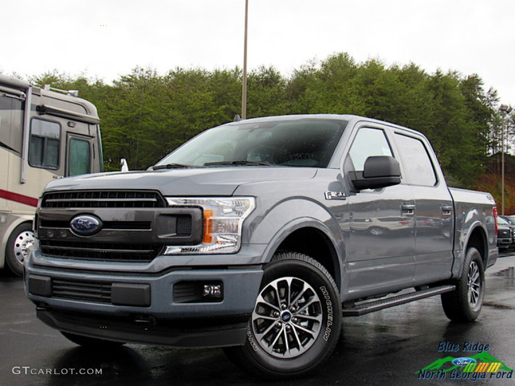 2020 F150 XLT SuperCrew 4x4 - Abyss Gray / Black photo #1