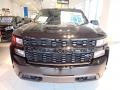 2020 Black Chevrolet Silverado 1500 Custom Crew Cab 4x4  photo #6