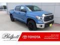 2020 Cavalry Blue Toyota Tundra TSS Off Road CrewMax 4x4 #136858806