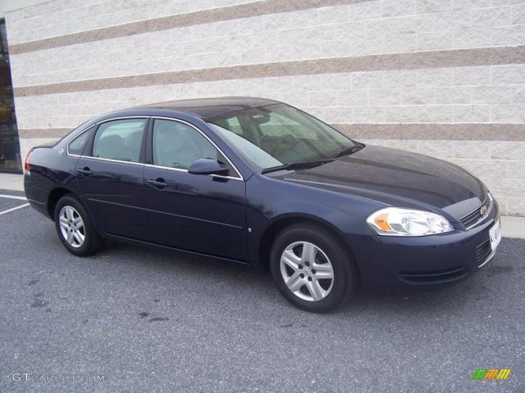 2007 impala ls imperial blue metallic gray photo 1