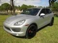 Classic Silver Metallic 2011 Porsche Cayenne S