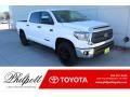 2020 Super White Toyota Tundra TSS Off Road CrewMax 4x4 #136978191