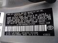 2019 Camry SE Celestial Silver Metallic Color Code 1J9
