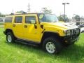2003 Yellow Hummer H2 SUV  photo #5
