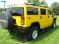 2003 Yellow Hummer H2 SUV  photo #7