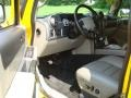 2003 Yellow Hummer H2 SUV  photo #12