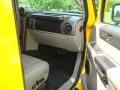 2003 Yellow Hummer H2 SUV  photo #17