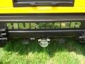 2003 Yellow Hummer H2 SUV  photo #25