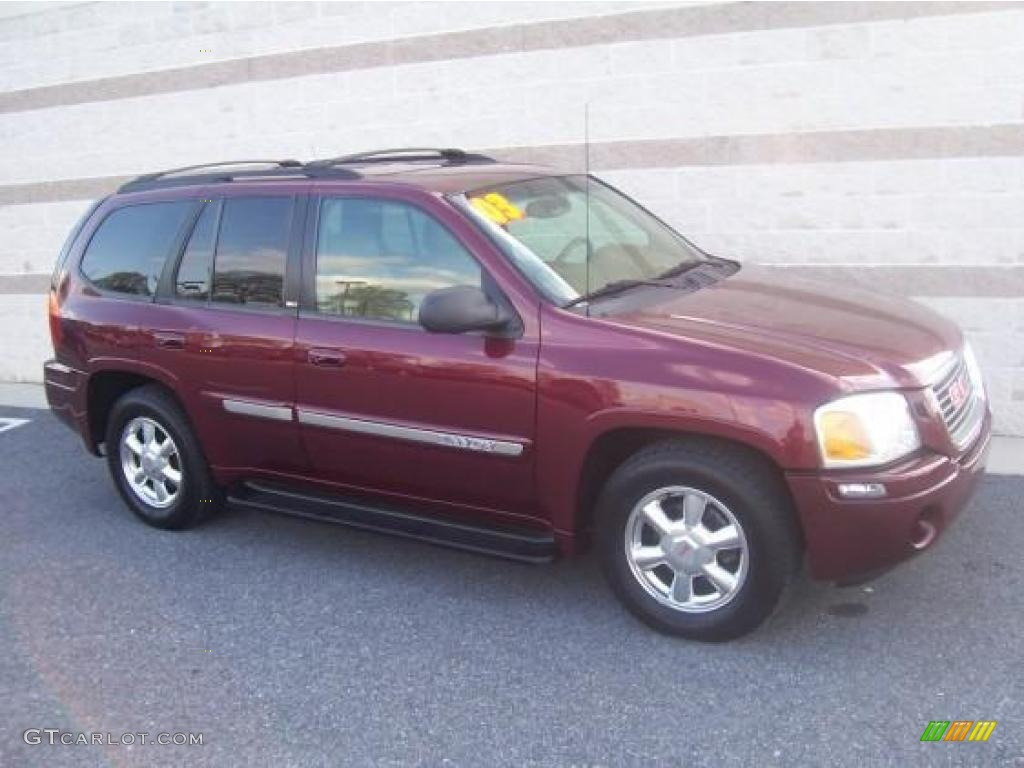 2003 monterey maroon metallic gmc envoy slt 4x4 13683393. Black Bedroom Furniture Sets. Home Design Ideas