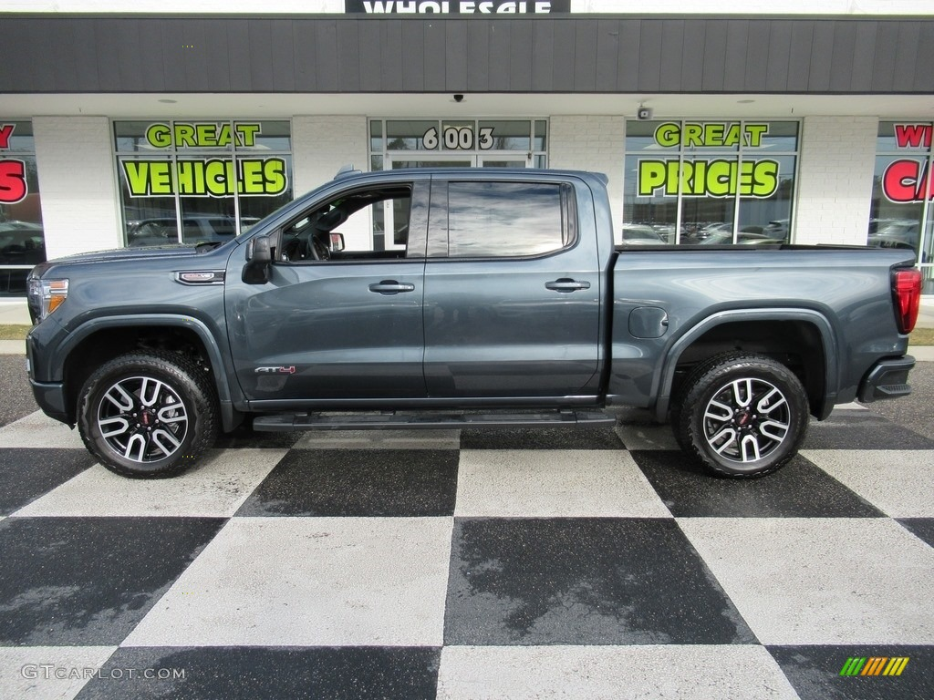 2020 Dark Sky Metallic Gmc Sierra 1500 At4 Crew Cab 4wd 137031587 Gtcarlot Com Car Color Galleries