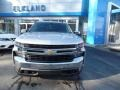 2020 Silver Ice Metallic Chevrolet Silverado 1500 LT Crew Cab 4x4  photo #3