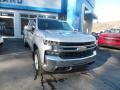 2020 Silver Ice Metallic Chevrolet Silverado 1500 LT Crew Cab 4x4  photo #4