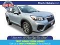 Ice Silver Metallic 2020 Subaru Forester 2.5i Premium