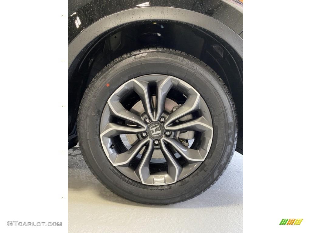 2020 CR-V EX-L AWD - Obsidian Blue Pearl / Gray photo #25