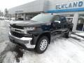2020 Black Chevrolet Silverado 1500 LT Z71 Crew Cab 4x4  photo #2