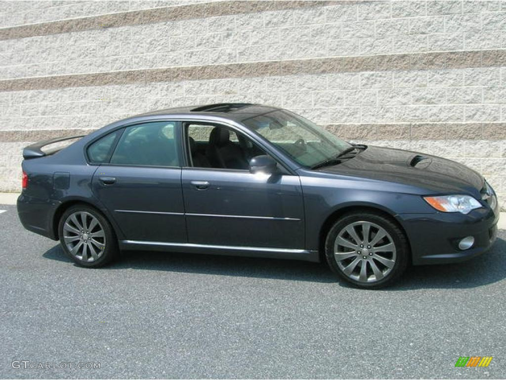 2008 Diamond Gray Metallic Subaru Legacy 25 Gt Specb Sedan