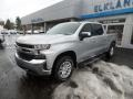 2020 Silver Ice Metallic Chevrolet Silverado 1500 LT Crew Cab 4x4  photo #1
