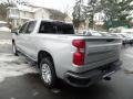 2020 Silver Ice Metallic Chevrolet Silverado 1500 LT Crew Cab 4x4  photo #7