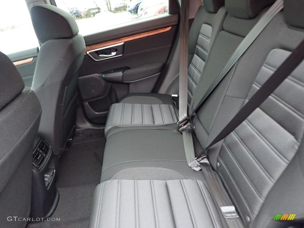 2020 CR-V EX AWD - Modern Steel Metallic / Black photo #9