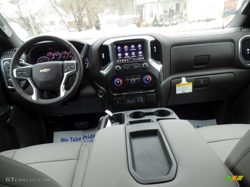 2020 Silverado 1500 LT Crew Cab 4x4 - Silver Ice Metallic / Gideon/Very Dark Atmosphere photo #31