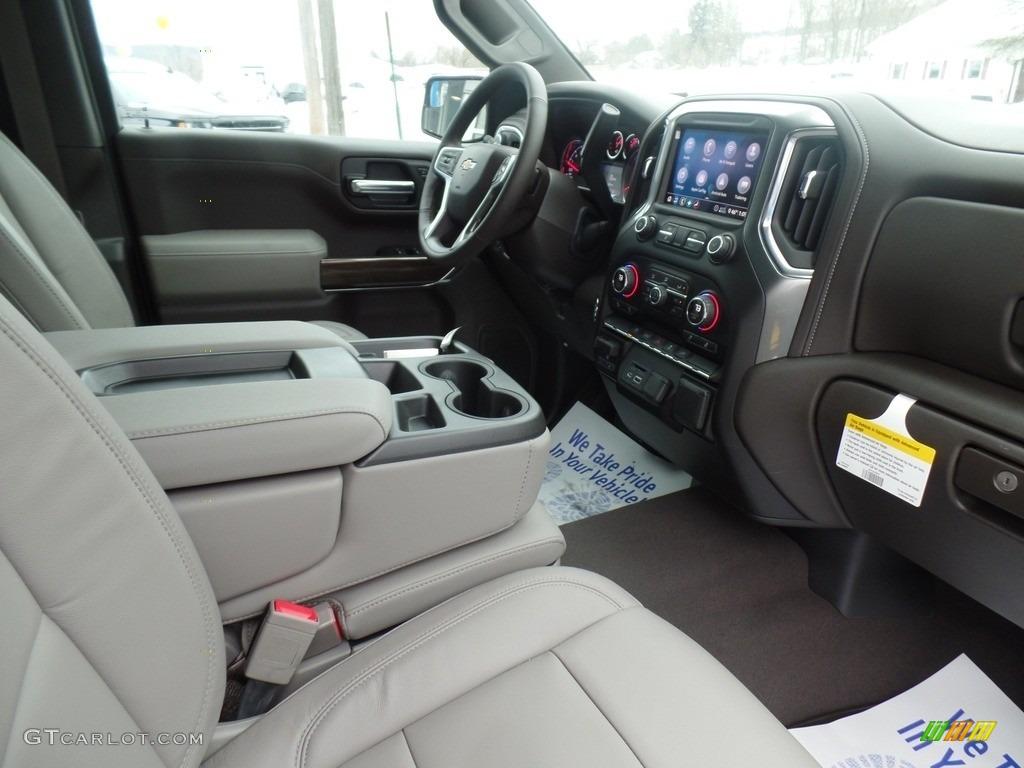 2020 Silverado 1500 LT Crew Cab 4x4 - Silver Ice Metallic / Gideon/Very Dark Atmosphere photo #43