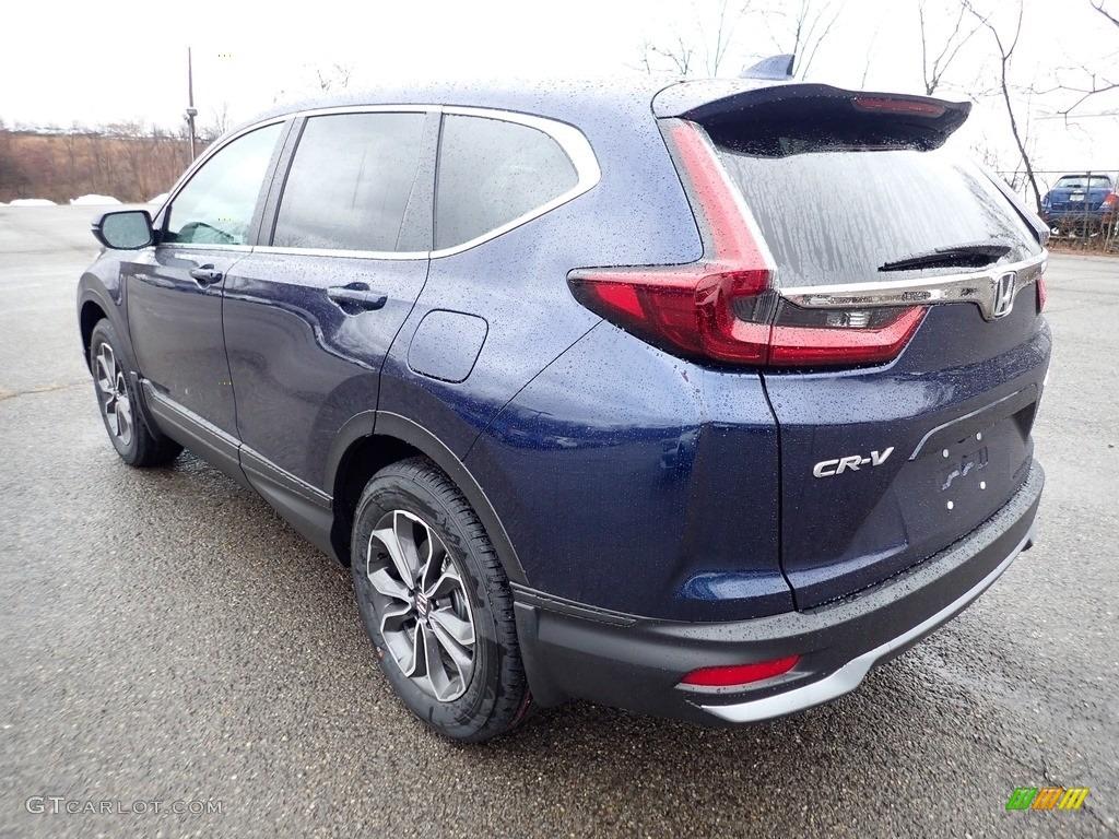 2020 CR-V EX-L AWD - Obsidian Blue Pearl / Gray photo #2