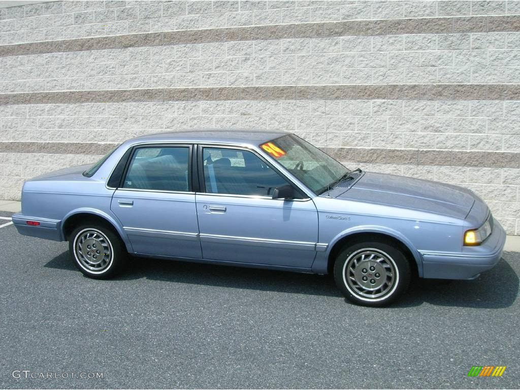 1994 cutlass ciera s light adriatic blue metallic adriatic blue photo 1
