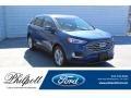 Atlas Blue Metallic 2020 Ford Edge SEL