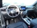 2020 Ford Explorer Ebony Interior Dashboard Photo