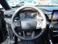 Ebony Steering Wheel Photo for 2020 Ford Explorer #137249566