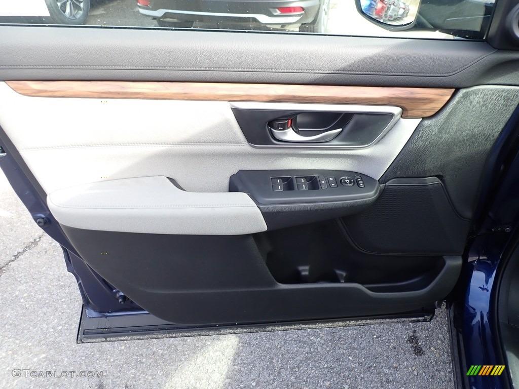 2020 CR-V EX AWD - Obsidian Blue Pearl / Gray photo #11