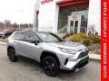 Silver Sky Metallic 2020 Toyota RAV4 XSE AWD Hybrid