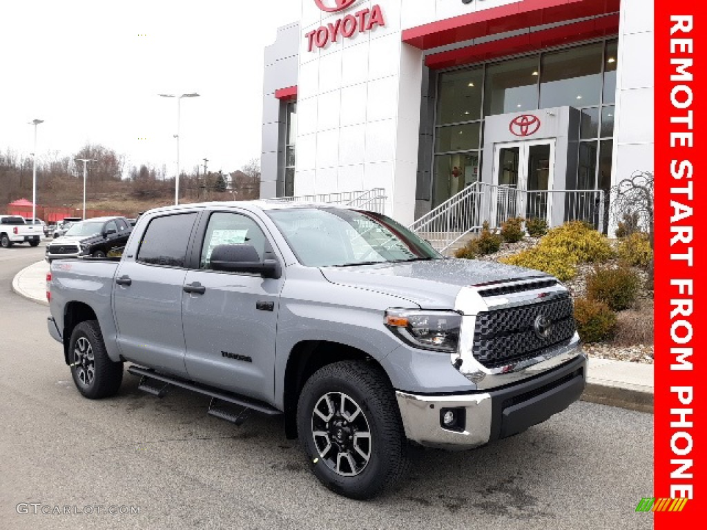 2020 Tundra SR5 CrewMax 4x4 - Cement / Graphite photo #1