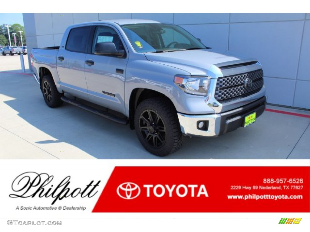 2020 Tundra TSS Off Road CrewMax - Cement / Black photo #1