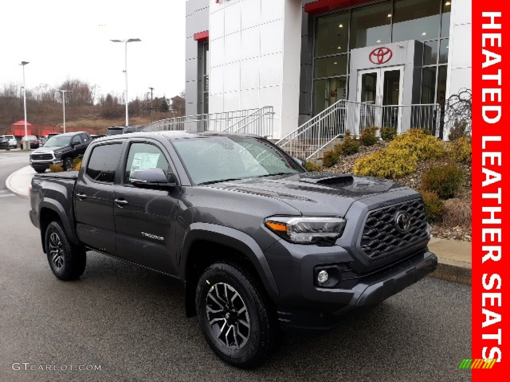 2020 Magnetic Gray Metallic Toyota Tacoma Trd Sport Double Cab 4x4 137331826 Gtcarlot Com Car Color Galleries