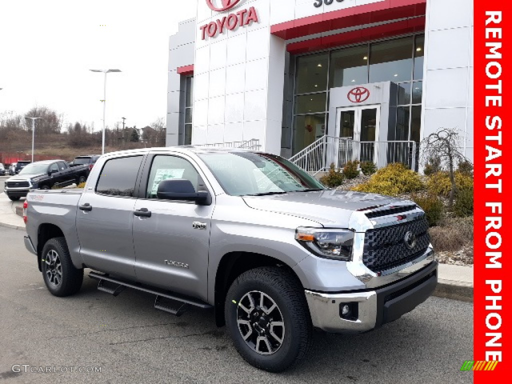 2020 Tundra TRD Off Road CrewMax 4x4 - Silver Sky Metallic / Graphite photo #1