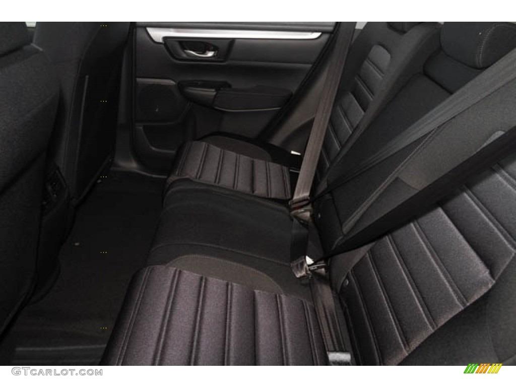 2020 CR-V LX - Modern Steel Metallic / Black photo #7