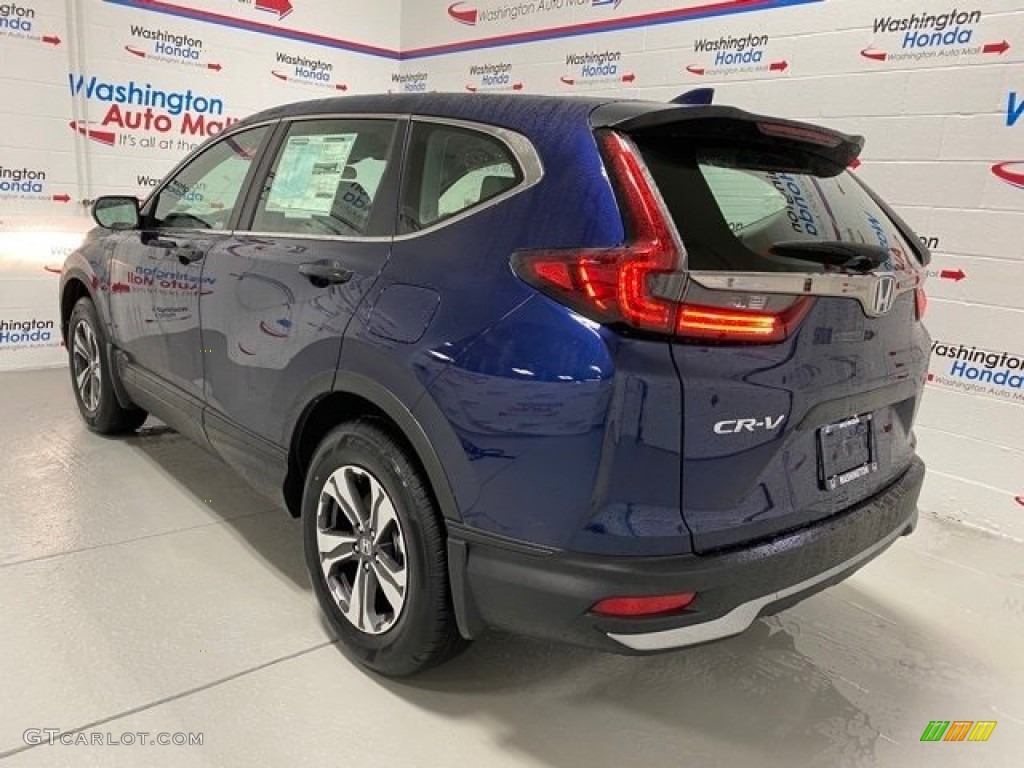 2020 CR-V LX AWD - Obsidian Blue Pearl / Gray photo #6
