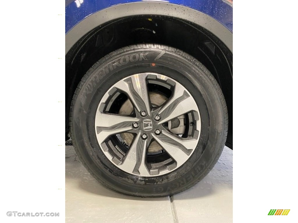2020 CR-V LX AWD - Obsidian Blue Pearl / Gray photo #25