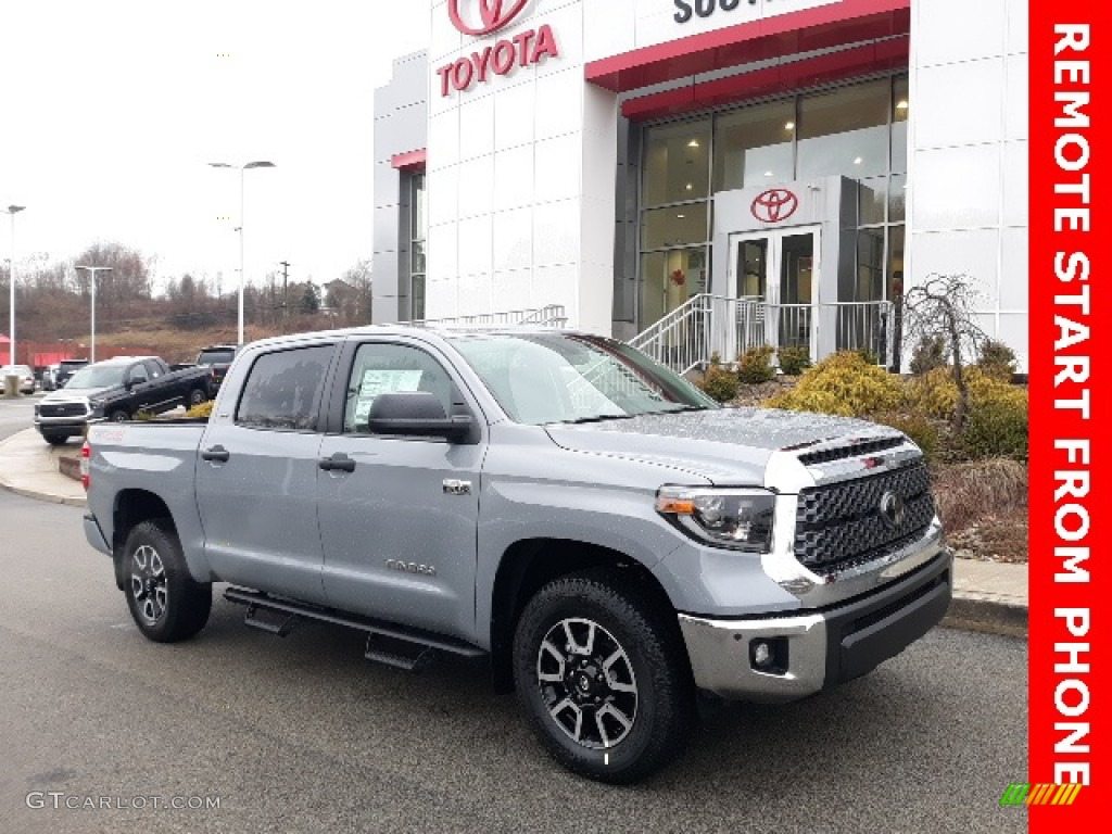 2020 Tundra TRD Off Road CrewMax 4x4 - Cement / Black photo #1