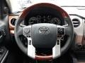 2020 Toyota Tundra 1794 Edition Brown/Black Interior Steering Wheel Photo