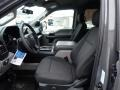 Black Front Seat Photo for 2020 Ford F150 #137386837