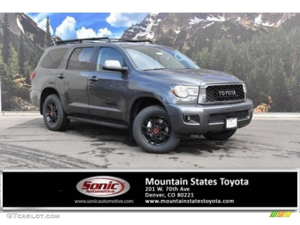 2020 Magnetic Gray Metallic Toyota Sequoia Trd Pro 4x4 137380189 Gtcarlot Com Car Color Galleries