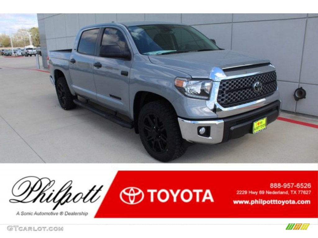 2020 Tundra TSS Off Road CrewMax - Cement / Graphite photo #1