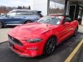 2019 Race Red Ford Mustang EcoBoost Convertible #137396657
