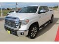 2020 Super White Toyota Tundra Limited CrewMax 4x4  photo #4