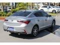 2020 Lunar Silver Metallic Acura ILX Premium  photo #8